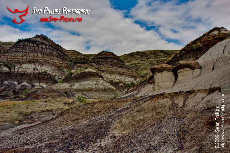 Hoodoos in the Badlands